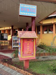 vihara buddhayana kota tomohon, sulawesi utara