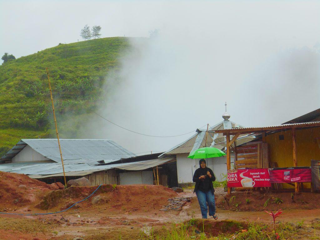 Kabut di Talegong