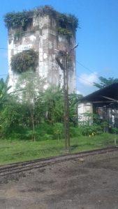 Menara Tua di Stasiun Banjar