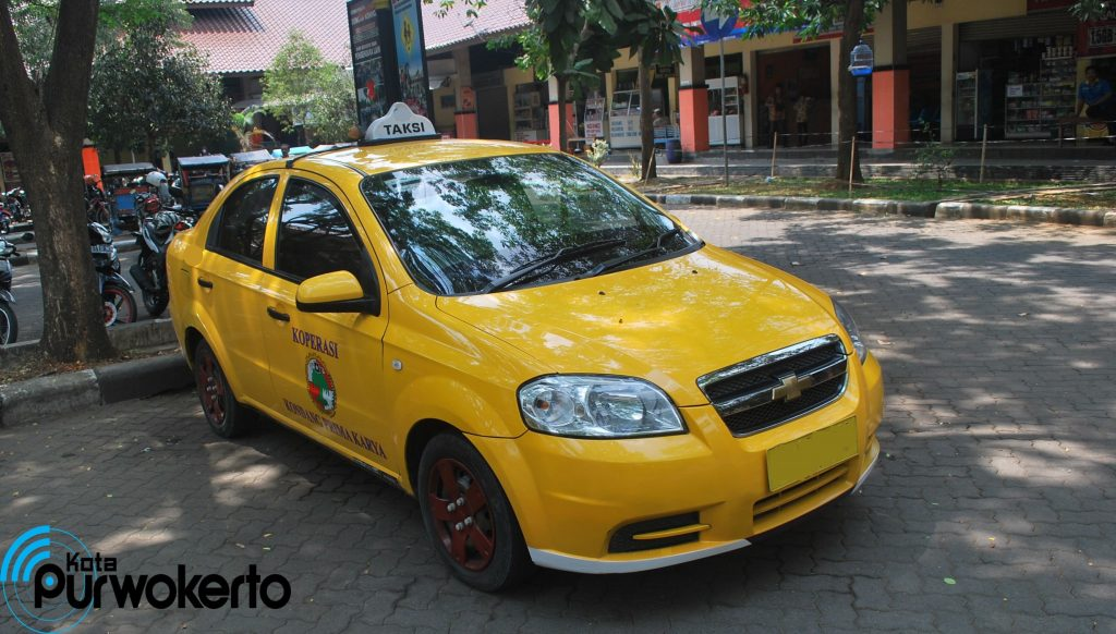 Taksi di Purwokerto