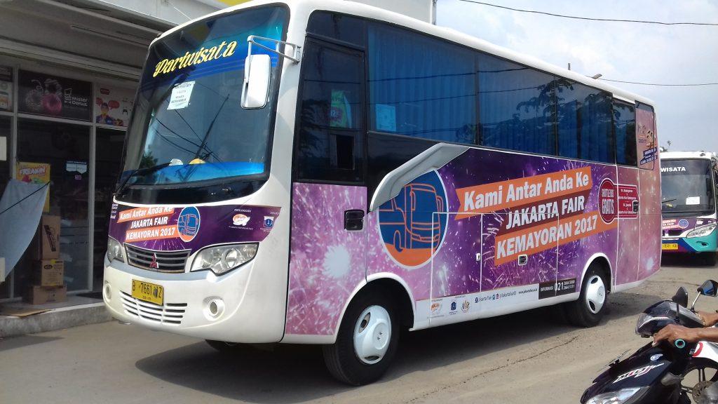 Shuttle Bus Gratis PRJ Kemayoran