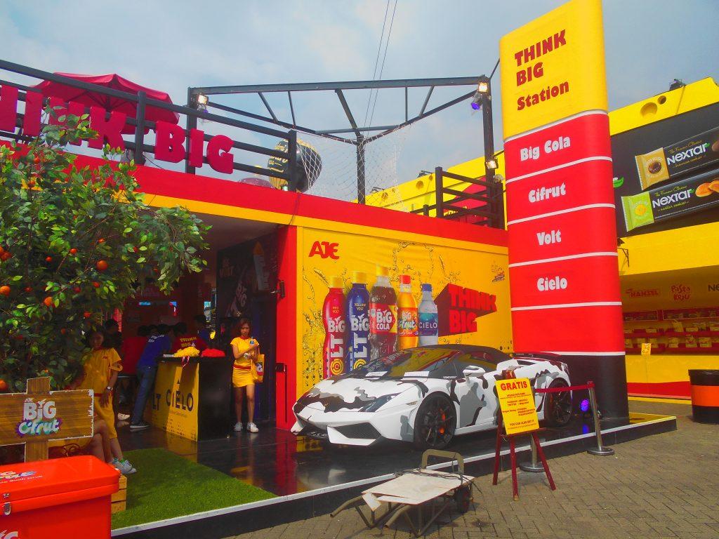 Stand di Jakarta Fair
