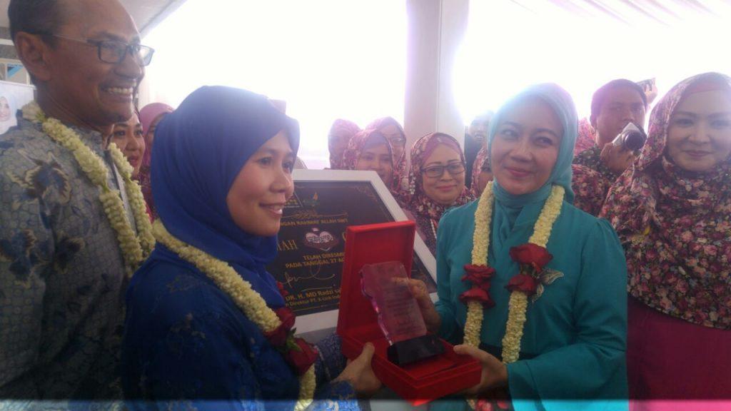 Peresmian Rumah Cantik K-Link Oleh Ibu Atalia Praratya Kamil