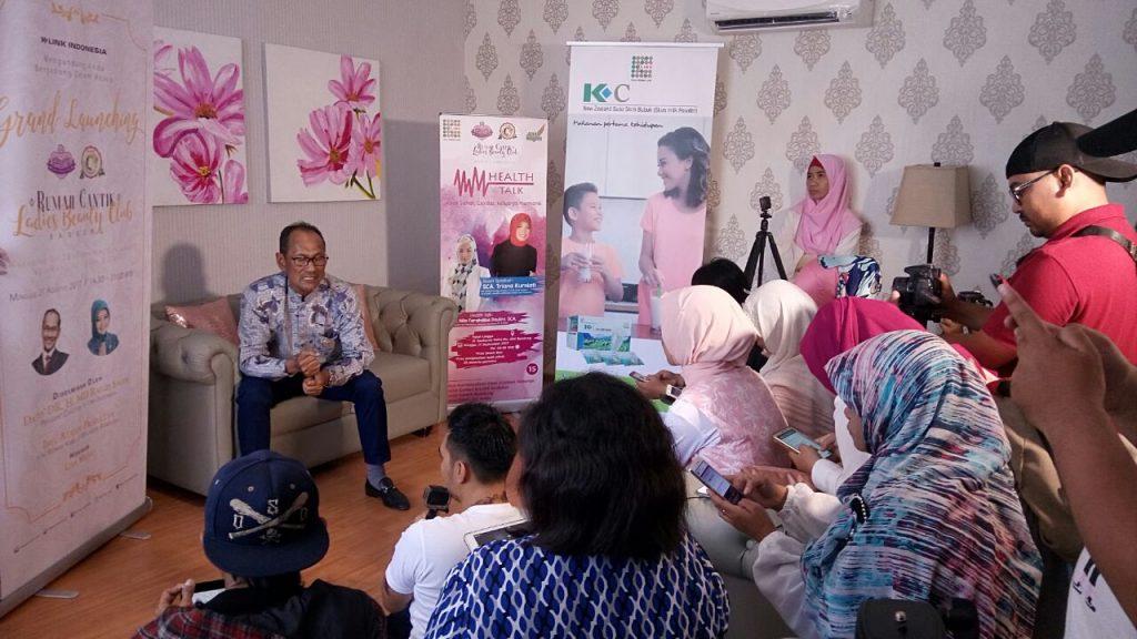 Sesi Wawancara bersama Presdir K-Link Indonesia