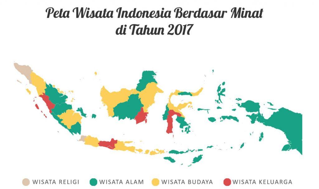 Peta Wisata Indonesia