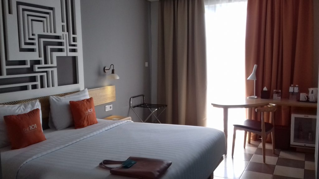 Kamar di 101 Resort Bogor