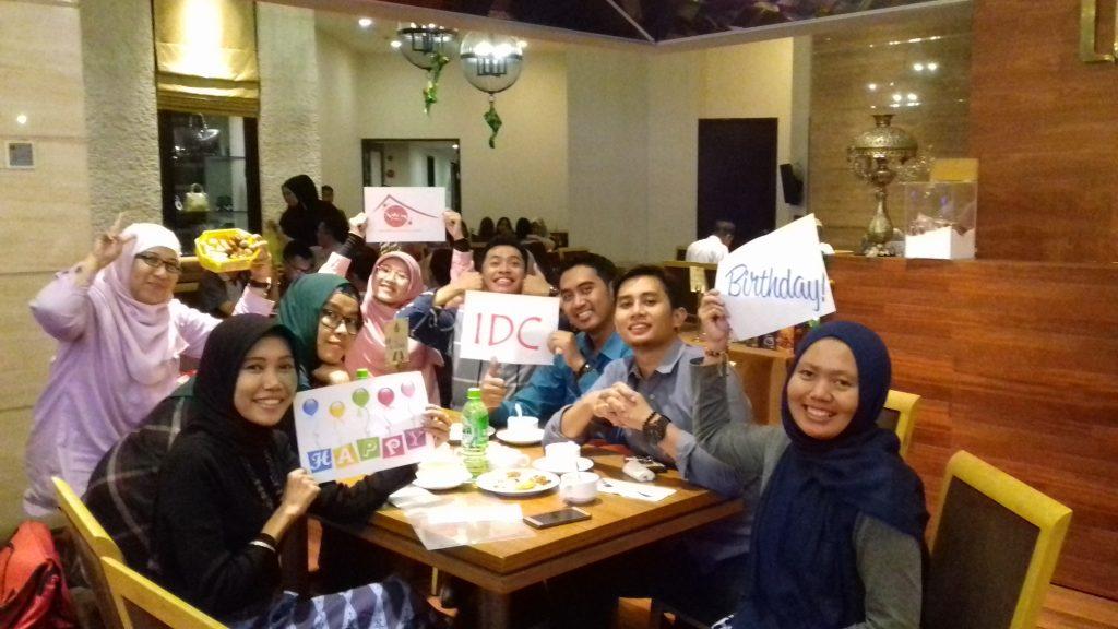 Kebersamaan dengan sahabat di De Java Hotel, Bandung