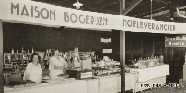 Penjualan di Maison Bogerijen, 1918-1923