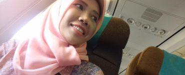 Flying to Semarang