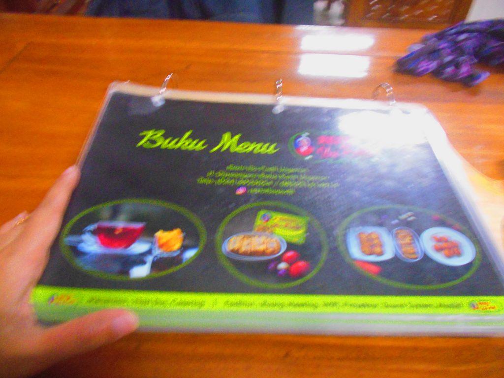 Menu di Restaurant Tahu Bakso Bu Pudji