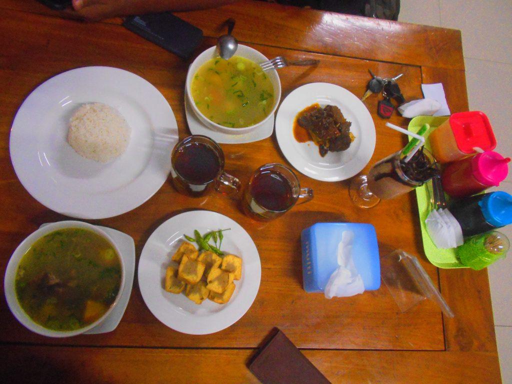 Makanan di Restaurant Tahu Bakso Bu Pudji Ungaran