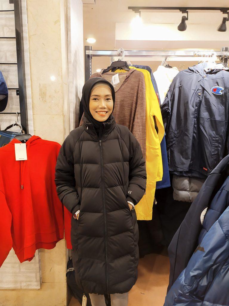 Jaket Musim Dingin Calvin Klein